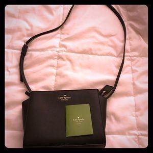 Kate Spade Hayden Crossbody Bag Leather Black